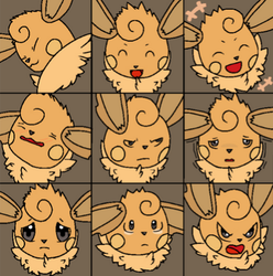 Contest Entry: Vee Emotions/Expressions by EonIllustration