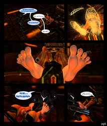 Metroid: Capture by darkness : pg6 by Bigfeetlover69