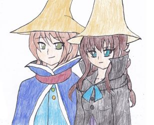 Harvest Fantasy: Story of Mages From Two Towns by Chicken-Yuki
