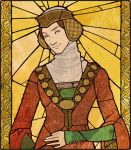 Medieval Stained Glass by Velven