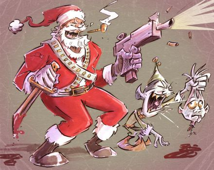 Insanty Claus by jusscope