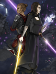 Imperious and Vaylin: Together by Glorfinniell