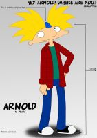 Arnold 16 years by HeboFreire