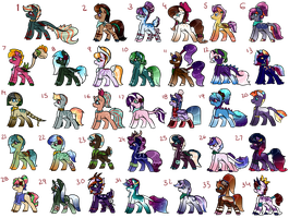 Leftover Breedings (8/34 OPEN) [REDUCED PRICE] by themoosewhisperer