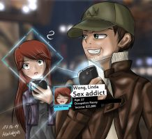 Watch Dogs - Found someone by Prophecy2011