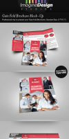 Gate Fold Brochure Mock-Up by idesignstudio