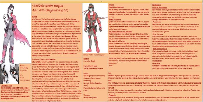 DC Comic Project: Character info-VLAD by Foxy-Knight