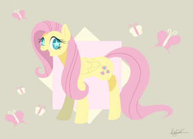 Fluttershy by PegaSisters82