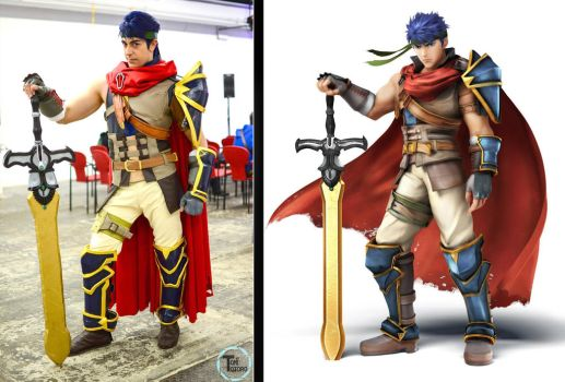 Ike Cosplay by taifu89