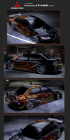Mitsubishi Lancer Evo by 3xhumed