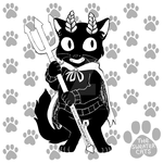 thesweatercats - Devil Kitty INK by colormymemory