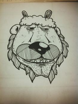 Sheep Lion by Zuoi