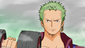 Zoro coloring, Strong World by AnnaHiwatari