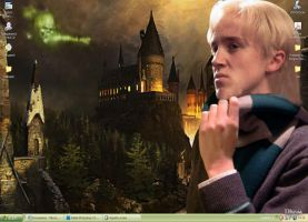 HP6-Draco Wallpaper by Dhesia