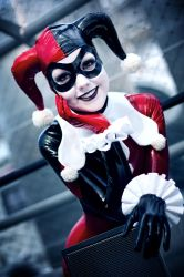 Harley Quinn - Mad Laugh by Lie-chee