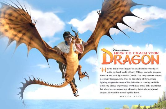 How to train my dragon by gondai