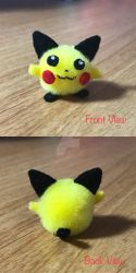 Pom-Pom Pokemon: Beta Pichu by LuckyNumber113
