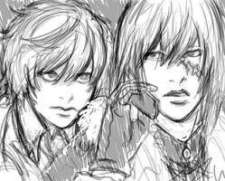 Mello and Near Sketch by telophase