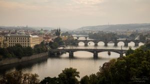 Bridges of Prague by LunaFeles
