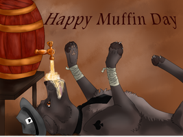 Happy Muffin Day by Madlaid