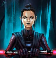 Darth Rey by HARU10
