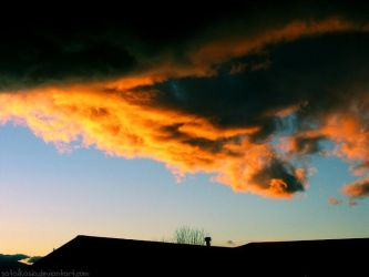 more sunset clouds by sataikasia