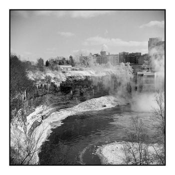 2016-065 More Winter at the High Falls by pearwood