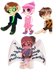 Drawing Some Chibis (Suggest some characters!) by Buttershy1