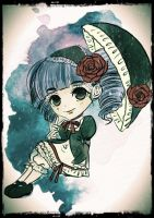 Gothic chibi by meisan