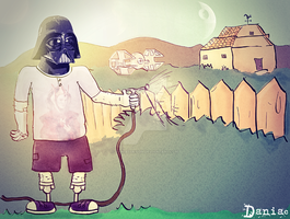 Darth vader Summer I by daniacdesign
