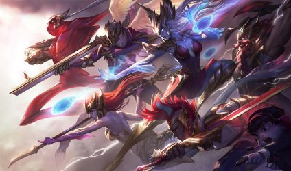SKT T1 SKINS - SPLASH by alvinlee
