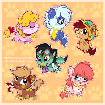 Stickers - Crazy Jungle by StePandy