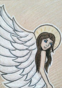 Angel ATC by whatonearth