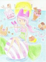 Ocean full of candy~ by candyleaf