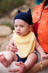 Baby Trunks Cosplay by Adella
