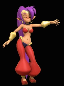 Shantae Belly Dance (Animation) by Legoguy9875