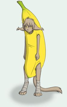 Keith Dressed Like a Banana by Twokinds