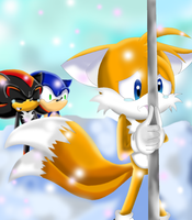 Tails - stuck by Shadoukun
