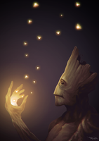 I am groot by ArionArcana