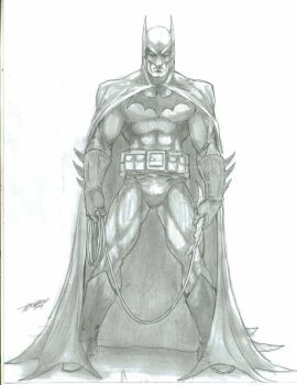 Batman sketch by -vassago-