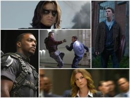 Captain America: The Winter Soldier - Photos Mix by Sharkypan87
