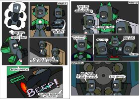 Spartanauts Adventures Comic Pages 11 and 12 by Adam-Clowery