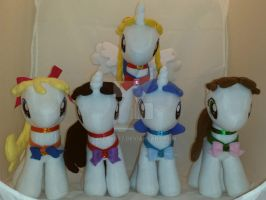 OC Custom Sailor Moon / Scouts My Little Pony by Aleeart7