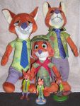 Will the Real Nick Wilde Please Stand Up? by SJF-Penguin