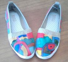 Abstract Shoes by Marchen-de-lune