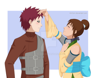 :CM: Naruto OC - You have such pretty hair by KirCorn