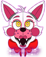 Funtime Foxy Head by FuntimesAreOver