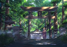 Gifu Shrine by PJYNico