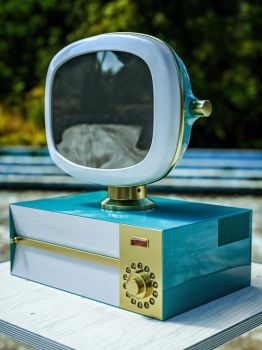Vintage TV (incl. C4D File) by NIKOMEDIA