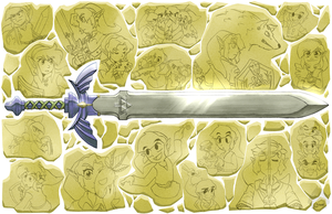 Masters of the Sword by CPTBee